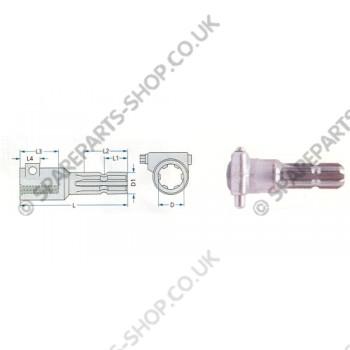 adapter pin 1 3-8
