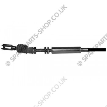 accelerator cable with tie rod