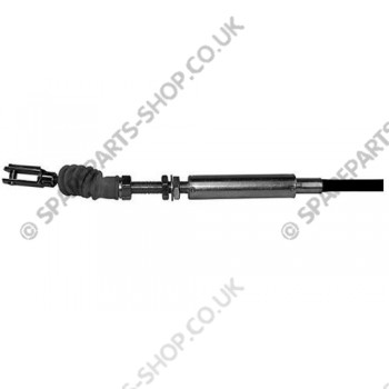 accelerator cable without tie rod