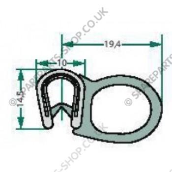 sealing rubber  1-4mm