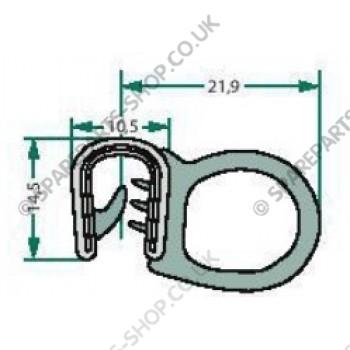 sealing rubber  2-5mm