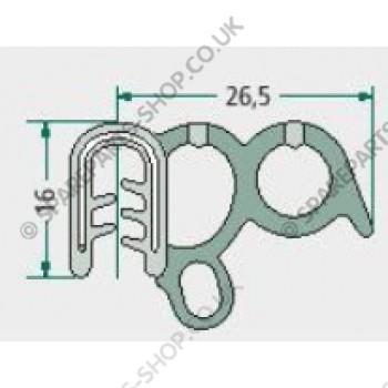 sealing rubber  1,5-3,5mm